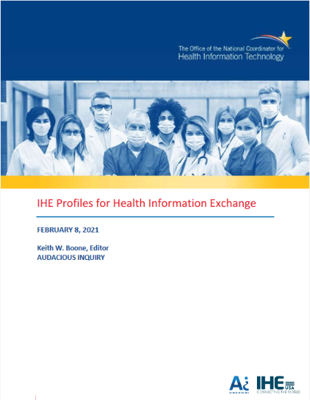 IHE Profiles for Health Information Exchange